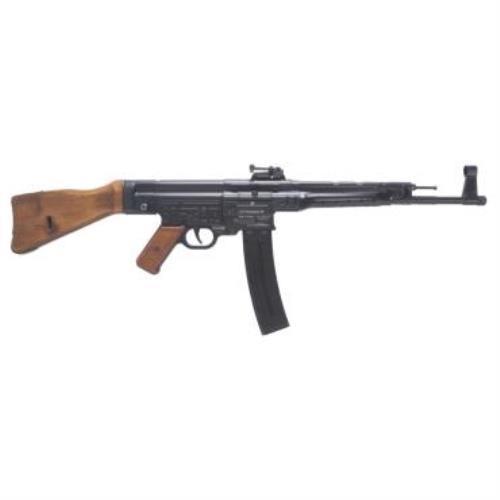 "American Tactical Imports Rifle Ati Stg-44 22LR 16.25"" Barrel Black Frame Wood Stock  25 Round"