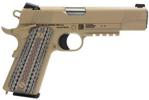 "Colt Government Marine M45 Pistol 45 ACP 5"" Barrel 7 Round Desert Tan Cerakote Semi Automatic Pistol"