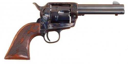 """Cimarron Elimator C 357 Magnum / 38 Special Revolver 4.75"""" Barrel Case Hardened Frame Standard Blued Finish Pistol"""