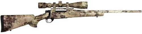 """Howa 223 Remington Bolt Action Rifle 22""""Barrel Nikko Stirling GameKing 4-16x44 Mil-Dot Scope Kryptek Highlander Camo Package"""