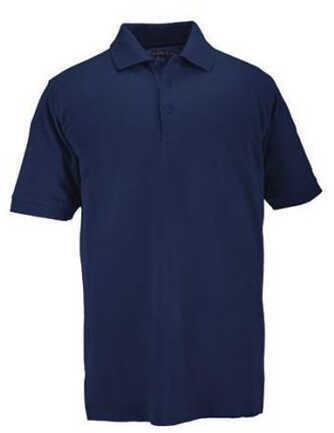 5.11 Inc Professional Polo, Short Sleeve Dark Blue, Large 41060-724-L