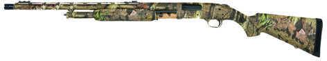 """Mossberg """"Left Handed"""" Shotgun 500L Turkey 12 Gauge 24"""" Adjustable Sights Synthetic Stock 59811"""