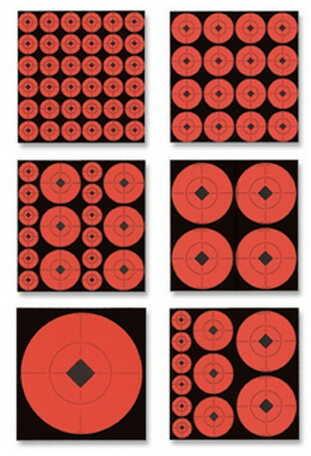 "Birchwood Casey Target Spots 8"" RoundTarget (Per 500) 33998"