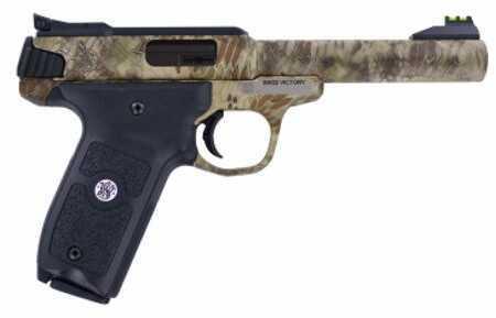 "Smith & Wesson Semi-Auto Pistol Victory 22 Long Rifle 5.5"" Barrel Kryptek Highlander Camo 22 LR10297"