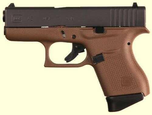 """GLOCK Semi-Auto Pistol G43 G3 Flat Dark Earth 9MM 6+1 3.39 FS TWO 6RD MAGAZINES 9mm Barrel 3.39"""""""