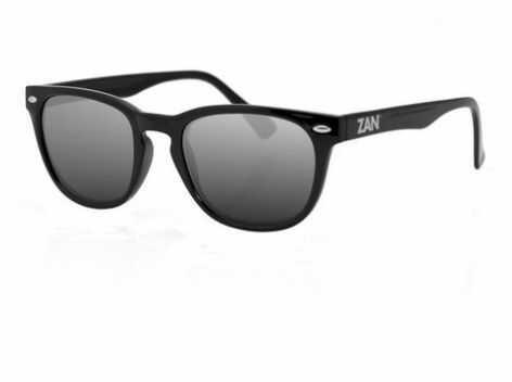 ZANheadgear NVS Sunglass w/Gloss Black Frame-Smoked Lenses