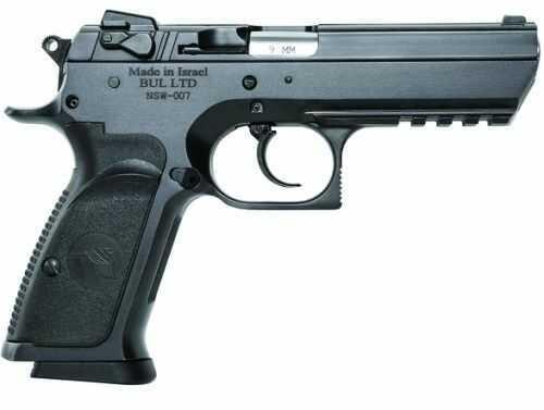 "Magnum Research Baby Eagle III Full Size Steel Frame DA/SA 9mm Pistol, 4.43"" Barrel 16-Round Magazin"