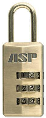 ASP Three Disc Combination Locks Brass 59509