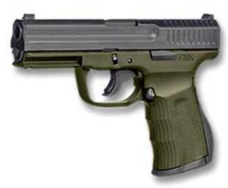 """FMK Firearms Pistol FMK G9C1G2OD 9C1G2 9mm Luger 4"""" Barrel 14rd OD Green Frame Black Slide"""