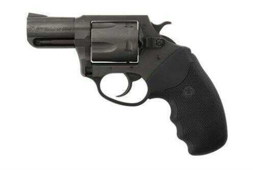"Charter Arms Revolver Pitbull 40 S&W 2.3"" Barrel Fixed Sights Nitride Finish Rubber Grip"