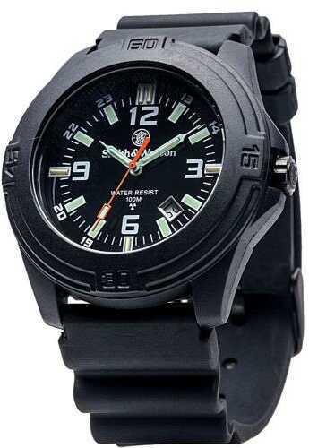 Smith & Wesson Soldier Tritium Black Rubber Strap Watch