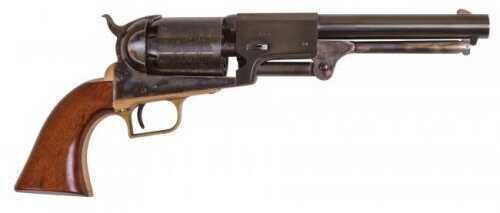 "Cimarron 1st Model Dragoon Percussion Revolver 44 Caliber 7.5"" Barrel Color Case Hardened Brass Trigger Guard B/S Standard Blued Finish CA080"