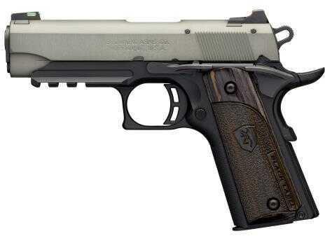 "Browning 1911 -22LR Pistol 3.5"" Barrel  10 Round  Gray/Black  With Fiber Optic Sight    051-850490"