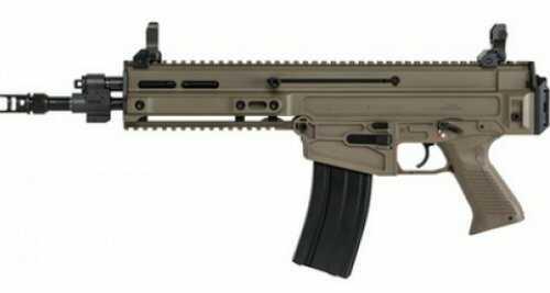 "CZ 805 Bren S1 Pistol 223 Remington/5.56mm NATO 11"" Barrel 30-Round Magazine 1/2x28 Muzzle Thread Polymer Grip Flat Dark Earth Finish Semi-Automatic Md: 91362"