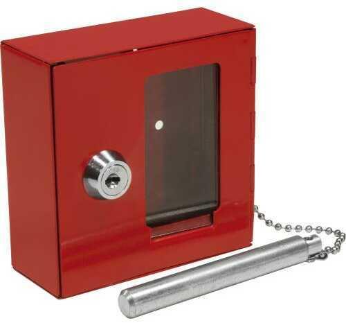 Barska Optics Barska Breakable Emergency Key Box With Attached Hammer B Style
