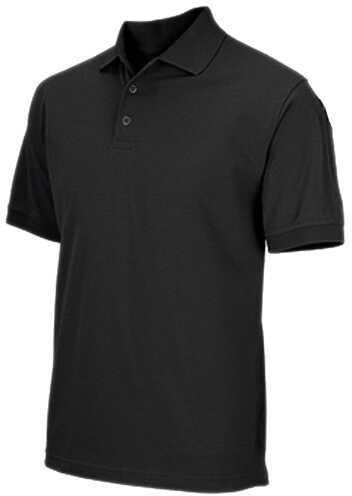 5.11 Inc Professional Polo, Short Sleeve Black, Large 41060-019-L