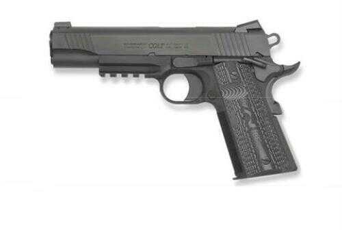 "Colt Semi-Auto Pistol Combat Unit Rail 45 ACP 5"" Barrel 8 Round Novak Night Sights Semi Automatic Pistol"