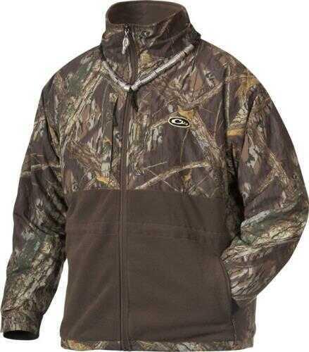 Drake Waterfowl Drake Eqwader Full Zip Jacket Shadow Branch Size Mediun