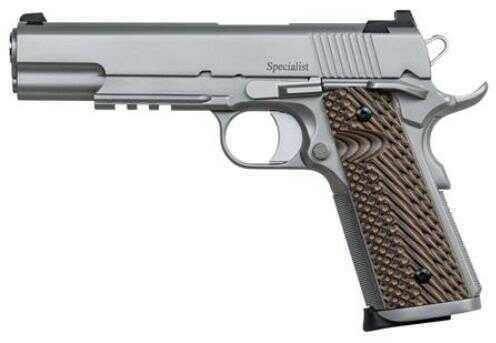 "CZ-USA Dan Wesson Specialist 9mm Luger Semi-Auto Pistol, 5"" Barrel 10-Round Magazine Capacity, VZ Op"