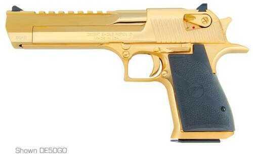 "Magnum Research Desert Eagle 44 Magnum 6"" Barrel 8 Round 24kt Gold Semi Automatic Pistol DE44GO"