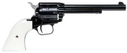 "Heritage Rough Rider Revolver 22 LR  6.5"" Barrel  Aluminum Alloy Blued  Finish  Cocobolo White Grip   6 Round"