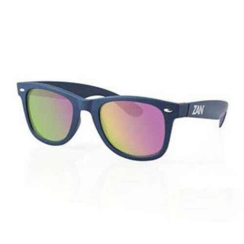 ZANheadgear Winna Sunglass w/Steel Blue-Smoked Purple Mirror