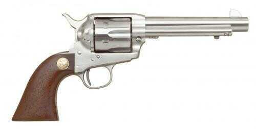 "Cimarron 1873 SAA 357 Magnum Stainless Steel Frontier Revolver 5.5"" Barrel Pre-War Frame Stainless Steel Finish Pistol MP4504"