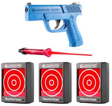 LaserLyte Triple Tyme Kit: 3 RT Targets, LT-Pro, SC Pistol Md: TLB-TTK