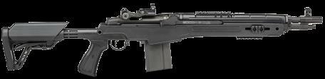 "Rifle Springfield Armory M1A SOCOM 16 CQB 7.62 NATO 10 Round 16.25"" Barrel Parkerized Black Stock"
