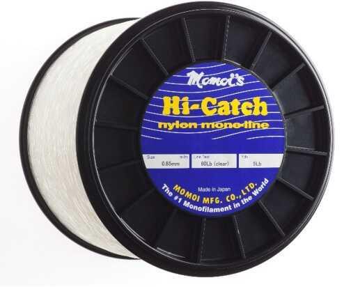 Momoi / Hi-Liner Line Momoi Hi Catch Mono 5lb Spool Clear White 1900yds 130lb Fishing Line 6-95699-01305-1