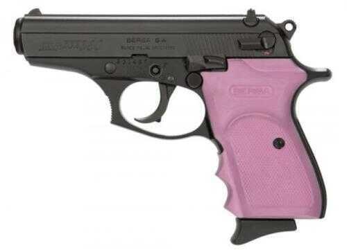 "Bersa Semi-Auto Pistol Thunder 380 ACP 3.5"" Barrel  8+1 Rounds Matte/Pink Wrap Around Grip"