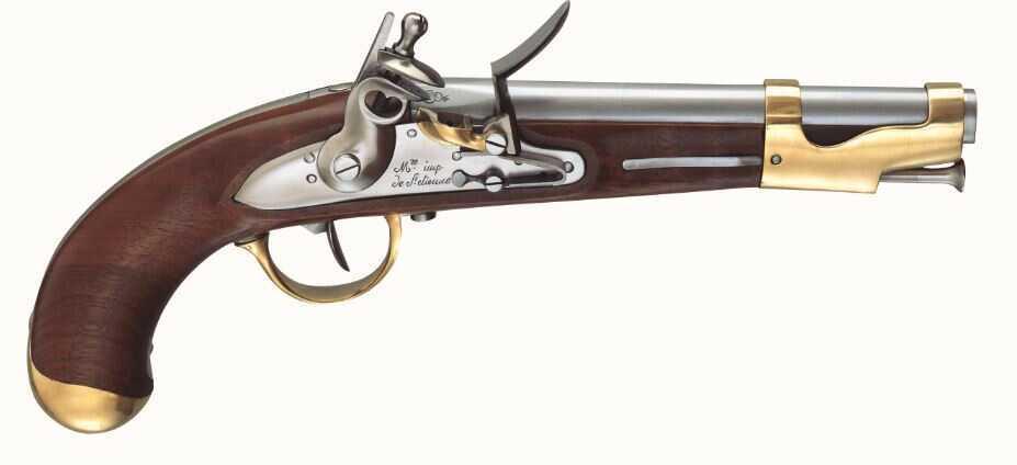 Pedersoli AN IX Flintlock Pistol .69 caliber