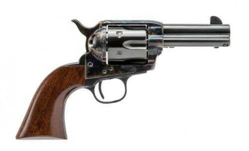 """Cimarron 1873 Single Action New Sheriff Model 44-40 3.5"""" Barrel New Sheriff Revolver Case Hardened Frame Standard Blued"""