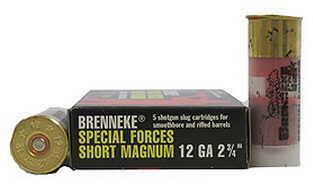 """Brenneke Special Forces Short Magnum 12ga 2 3/4"""" SL-122SFM-1206825"""
