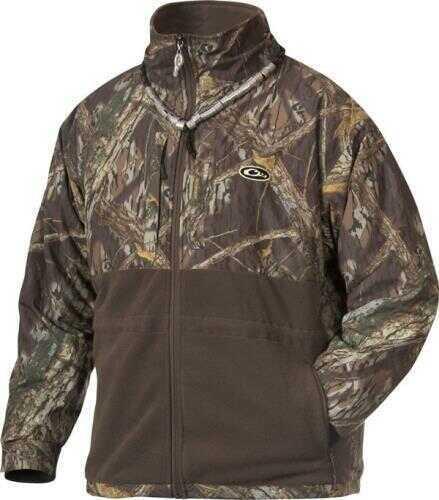 Drake Waterfowl Drake Eqwader Full Zip Jacket Shadow Branch Size 2X-Large