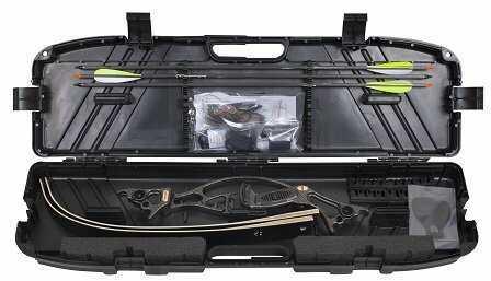 Martin Archery Inc. Martin Panther Takedown Trad. Kit Black 45# RH 2822T45