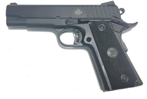 Rock Island Armory Semi-Auto Pistol M1911-A1 MS 9MM PK/POLY 4.25 9+1   MID SIZE   COMBAT HAMMER 9mm