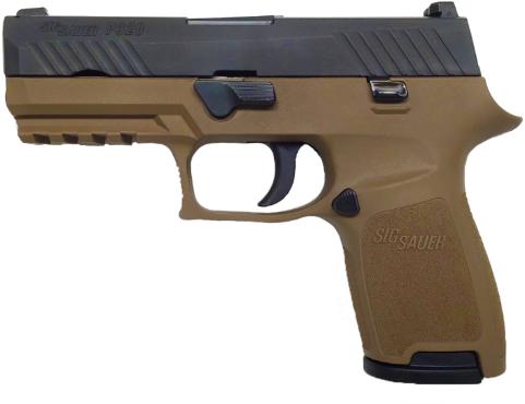 Sig Sauer P320 Semi-Auto 40 Smith & Wesson Pistol, 13+1 Magazine Capacity, Double-Action Trigger, Tw