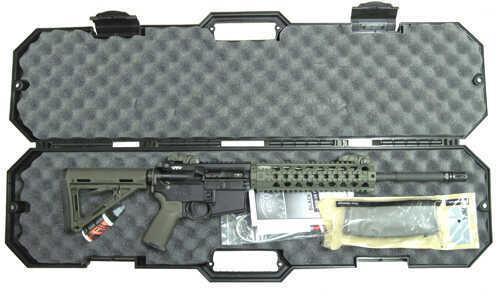 "Black Dawn AR-15 5.56mm NATO 16"" Barrel 30 Round A2 Front Sight MBUS Rear Sight OD Green Semi Automatic Rifle BDR-15M-ODG"
