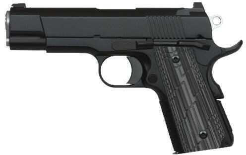 "Dan Wesson Valkyrie 45 ACP 4.25"" Barrel Single Action 7+1 Rounds TNS Black G10 Slimline Grip Pistol 01966"