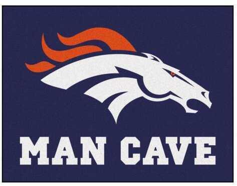 Fanmats Man Cave Starter Nfl - Denver Broncos