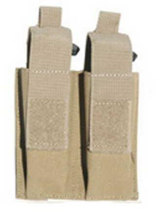 Galati Gear MOLLE Pistol Magazine Pouch (Holds 2) Tan GLMA318-T