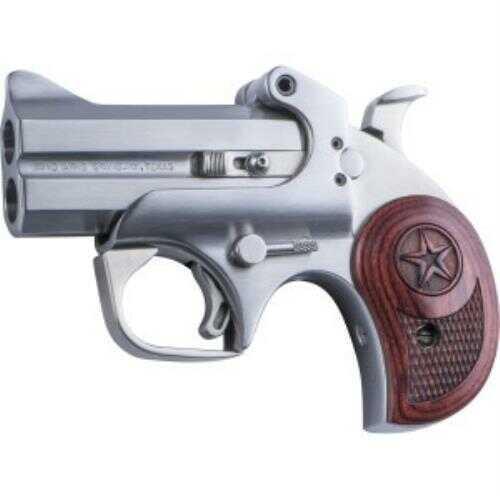 """Bond Arms Texas Defender 45 Colt/410 Gauge 3"""" Barrel 2 Round Stainless Steel  Derringer Pistol BATD45/410"""