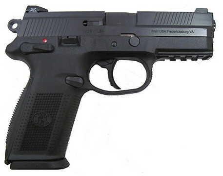 Pistol FNH USA FNX-9 DA/SA MS Black/Black 9mm Luger 17-Round, Night Sights 66823