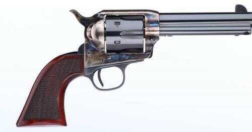 "Taylor's & Company The Short Stroke Smoke Wagon Revolver 357 Magnum 4.75"" Barrel 6-Round Capacity Blued Finish"