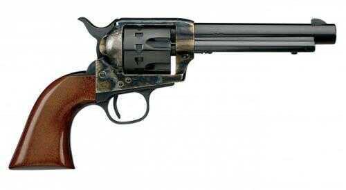 "Cimarron Model P 22 Long Rifle Revolver  5.5"" Barrel  Case Hardened  Pre-War Frame  1-Piece Walnut Grip"