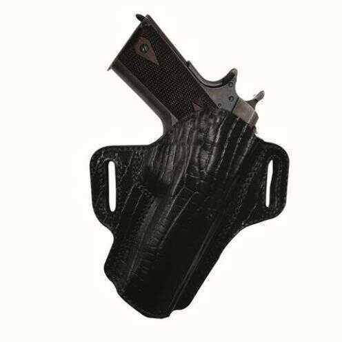 "Tagua Premium Open Top Belt Holster Colt 1911 - 4"" Black"