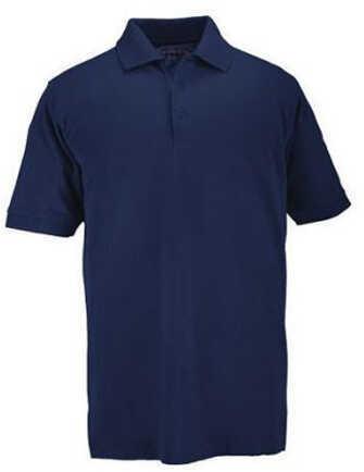 5.11 Inc Professional Polo, Short Sleeve Dark Blue, XXLarge 41060-724-XXL