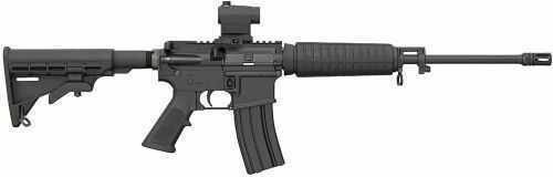 "Bushmaster Quick Response Carbine QRC AR-15 5.56mm NATO 16"" Barrel With Red Dot Scope Semi Automatic Rifle"