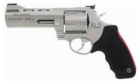 "Taurus M 454 Raging Bull 454 Casull 5"" Barrel 5 Round Matte Stainless Steel Refurbished Revolver Z2454059M"